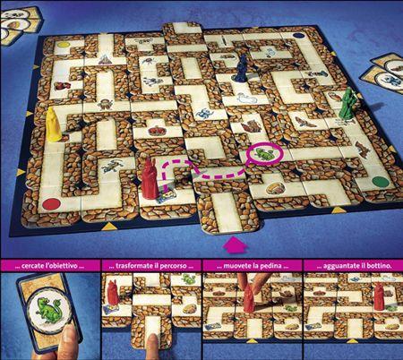labirinto gioco da tavolo natale 2018