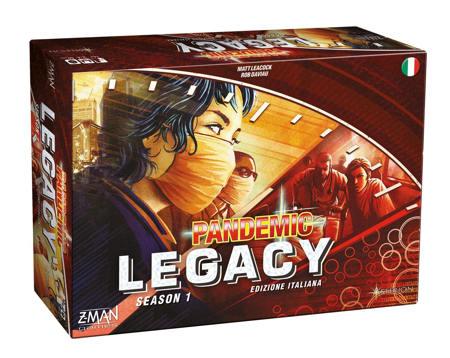 gioco da tavolo pandemic legacy