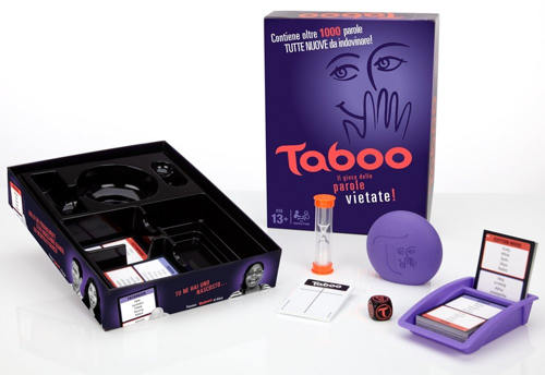 gioco taboo parole vietate